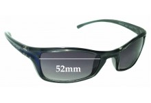 Sunglass Fix Sunglass Replacement Lenses for Arnette Iron Fist AN4031 - 52mm Wide