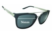 Sunglass Fix Sunglass Replacement Lenses for Arnette Juncture AN4232 - 56mm Wide
