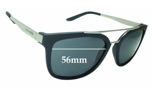 Sunglass Fix Sunglass Replacement Lenses for Arnette Juncture 4232 - 56mm wide
