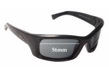 Sunglass Fix Sunglass Replacement Lenses for Arnette Mastermind AN4052 - 56mm Wide