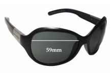 Sunglass Fix Sunglass Replacement Lenses for Arnette Mystique AN4117 - 59mm Wide