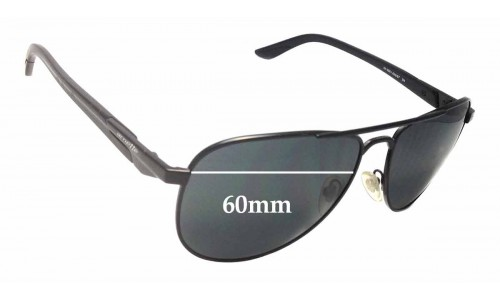 Sunglass Fix Sunglass Replacement Lenses for Arnette One Time AN3061 - 60mm Wide
