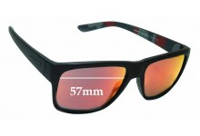 Sunglass Fix Sunglass Replacement Lenses for Arnette Reserve AN4226 - 57mm Wide