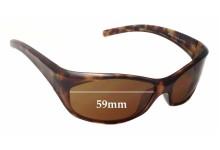 Sunglass Fix Sunglass Replacement Lenses for Arnette Ripper AN4019 - 59mm Wide