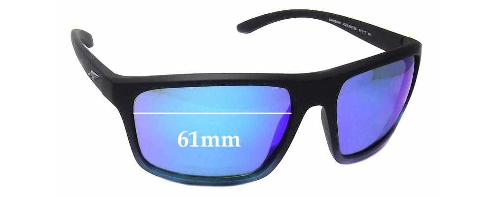 6055d9cce3 Arnette Sandbank AN4229 Sunglass Replacement Lenses - 61mm Wide ...