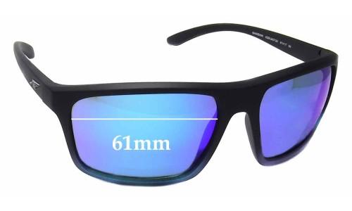 Sunglass Fix Sunglass Replacement Lenses for Arnette Sandbank AN4229 - 61mm Wide