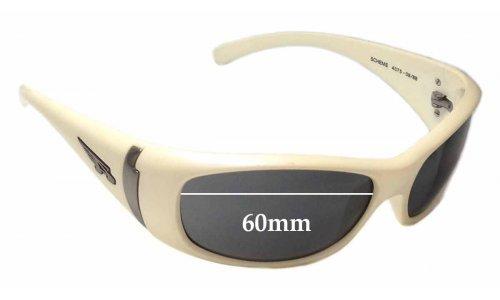 Sunglass Fix Sunglass Replacement Lenses for Arnette Scheme AN4075 - 60mm wide