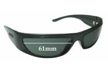 Sunglass Fix Sunglass Replacement Lenses for Arnette Signature AN4265 - 61mm Wide x 31mm Tall