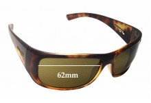 Sunglass Fix Sunglass Replacement Lenses for Arnette Snap AN4123 - 62mm Wide