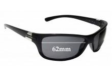 Sunglass Fix Sunglass Replacement Lenses for Arnette Speed AN4120 - 62mm Wide