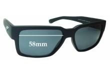 Sunglass Fix Sunglass Replacement Lenses for Arnette Supplier AN4213 - 58mm Wide