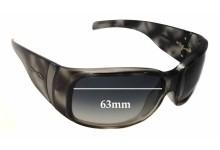 Sunglass Fix Sunglass Replacement Lenses for Arnette Surge AN4097 - 63mm Wide