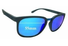 Sunglass Fix Sunglass Replacement Lenses for Arnette Tigard AN4238 - 55mm Wide