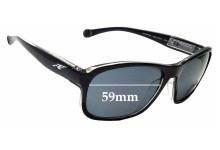 Sunglass Fix Sunglass Replacement Lenses for Arnette Uncorked AN4209 - 59mm Wide