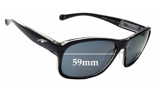 Sunglass Fix Sunglass Replacement Lenses for Arnette Uncorked AN4209 - 59mm wide