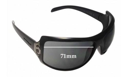 Sunglass Fix Sunglass Replacement Lenses for Arnette Undercover AN4091 - 71mm