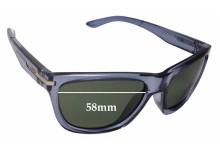 Sunglass Fix Sunglass Replacement Lenses for Arnette Venkman AN4141 - 58mm Wide