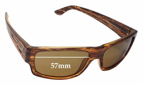 Sunglass Fix Sunglass Replacement Lenses for Arnette Wager AN4144 - 57mm Wide