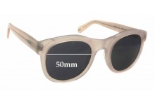 Sunglass Fix Sunglass Replacement Lenses for Bally BY2045 - 50mm Wide