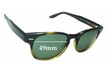 Sunglass Fix Sunglass Replacement Lenses for Barton Perreira Dempsey - 49mm Wide