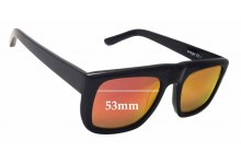 Sunglass Fix Sunglass Replacement Lenses for Bassike Page 26.1 - 53mm Wide