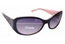 Sunglass Fix Sunglass Replacement Lenses for Bebe Dazzler BB7058 - 57mm Wide