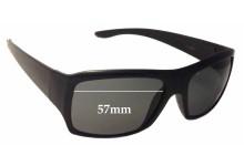 Sunglass Fix Sunglass Replacement Lenses for Blok Cavill SA0606 - 57mm Wide