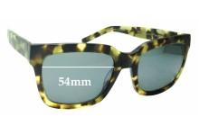 Sunglass Fix Sunglass Replacement Lenses for Bonlook Upbeat - 54mm Wide