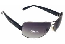 Sunglass Fix Sunglass Replacement Lenses for Bvlgari 5001 - 66mm Wide