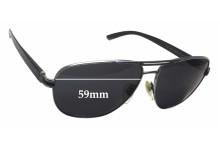 Sunglass Fix Sunglass Replacement Lenses for Bvlgari 5033 - 59mm Wide