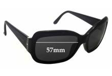 Sunglass Fix Sunglass Replacement Lenses for Bvlgari 8052-B - 57mm Wide