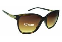 Sunglass Fix Sunglass Replacement Lenses for Bvlgari 8136-B - 57mm Wide