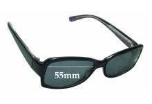 Sunglass Fix Sunglass Replacement Lenses for Calvin Klein CK4117S - 55mm Wide