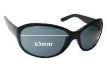 Sunglass Fix Sunglass Replacement Lenses for Calvin Klein CK3054S - 63mm Wide