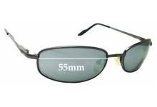 d6476b422f0 Sunglass Fix Sunglass Replacement Lenses for Caribbean Sun CS004M - 55mm  wide