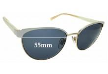 Sunglass Fix Sunglass Replacement Lenses for Carla Zampatti Sun Rx 05 - 55mm Wide