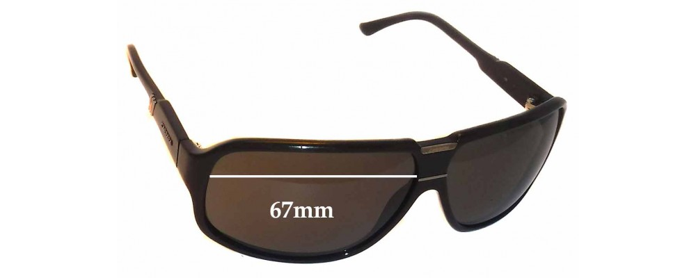 fc71b194cc0 Sunglass Fix Sunglass Replacement Lenses for Carrera - 67mm wide