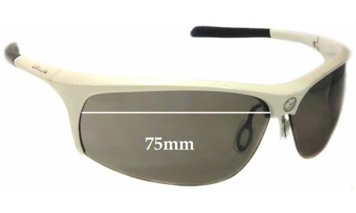 Sunglass Fix Sunglass Replacement Lenses for Carrera Pugno - 75mm wide