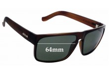 Sunglass Fix Sunglass Replacement Lenses for Carve Vendetta -  64mm Wide