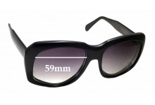 Sunglass Fix Sunglass Replacement Lenses for Caviar Ultra Goliath - 59mm Wide - 52.5mm Tall