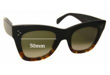 Sunglass Fix Sunglass Replacement Lenses for Celine CL 41090/S - 50mm Wide