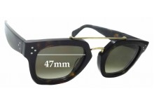 Sunglass Fix Sunglass Replacement Lenses for Celine CL 41077/S - 47mm Wide