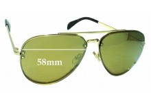 Sunglass Fix Sunglass Replacement Lenses for Celine CL41392/S - 58mm Wide