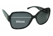 Sunglass Fix Sunglass Replacement Lenses for Chanel 1345/3C - 60mm Wide