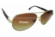 Sunglass Fix Sunglass Replacement Lenses for Chanel 4195-Q - 61mm Wide
