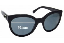 Sunglass Fix Sunglass Replacement Lenses for Chanel 5315 - 54mm Wide