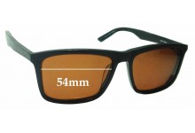 Sunglass Fix Sunglass Replacement Lenses for Cheap Mondays Resin Sun Rx  - 54mm Wide