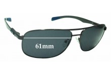 Sunglass Fix Sunglass Replacement Lenses for Chilli Beans MT2315 - 61mm Wide