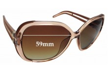 Sunglass Fix Sunglass Replacement Lenses for Chloe CE 650S - 59mm Wide