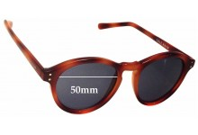 Sunglass Fix Sunglass Replacement Lenses for Cole Haan C6164 - 50mm Wide
